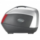 Givi V35 Side Boxes Silver 35Ltr