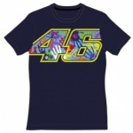 VR46 Rossi Ladies 46  T-Shirt - Blue