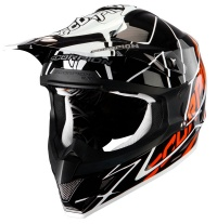 Scorpion VX15 Sprint Black Orange Moto x Helmet
