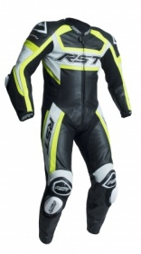 RST Tractech Evo R CE One Piece Leather Suit - Fluo Yellow