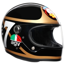 AGV X3000 Helmet - Barry Sheene Replica