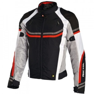 Richa Air Stream Jacket - Blk/Wht/Red