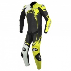 Alpinestars GP Plus Race Suit Black White Yellow