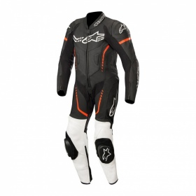 Alpinestars Youth Cup GP Plus Leather Suit Black White & Red