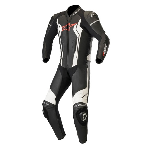 Alpinestars GP Force 1 Piece Leather Suit Black&White
