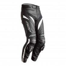 RST TRACTECH EVO 4 CE MENS LEATHER JEAN - BLACK/WHITE