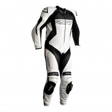 RST TRACTECH EVO 4 CE MENS LEATHER SUIT - WHITE / BLACK