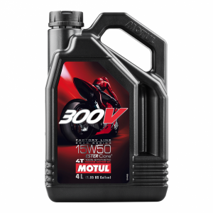 Motul 300V 15W50 Road Racing Engine Oil 4 Ltr