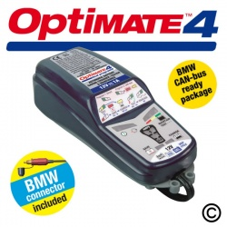 OptiMate 4 Duo Program BMW Battery Charger-Optimiser