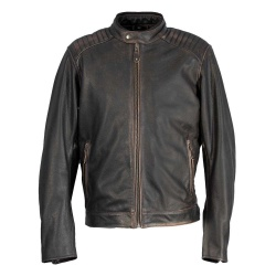 Richa Harrier Leather Retro Jacket Brown