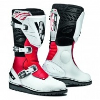 SIDI TRIAL ZERO 1 WHITE/RED CE