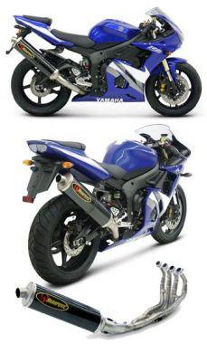 Akrapovic 2003 to 2005 R6 Full system