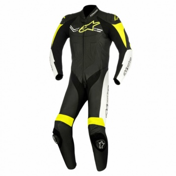 Alpinestars Challenger Leather Suit - Black and Yellow