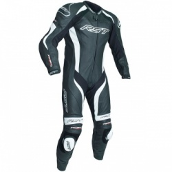 RST Tractech Evo 3 CE One Piece Leather Suit - Black/White