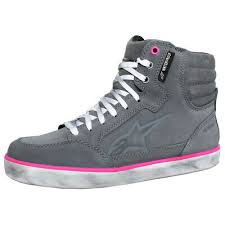 Alpinestars Stella J-6 Waterproof Women's Boot Grey Fuchsia