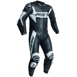 RST Tractech Evo R CE One Piece Leather Suit - Black/White
