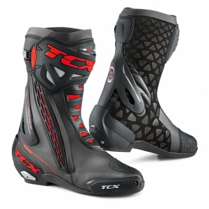 TCX RT-RACE Boots Red and Black