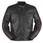Furygan Legend Leather Jacket - Black