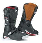 TCX Comp Kids Black Motorcross Boots