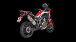 Akrapovic CRF1000L Africa Twin 16-20 Ti Slip-On Silencer