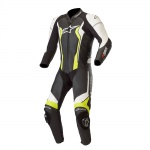 Alpinestars GP Force 1 Piece Leather Suit Black&Yellow
