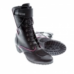 Bering Lady Morgane  Black Fuchsia CE Approved WP Motorcycle Boots