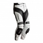 RST TRACTECH EVO 4 CE MENS LEATHER JEAN - WHITE BLACK