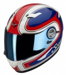 Scorpion EXO-500 Air Classico Red/White/Blue
