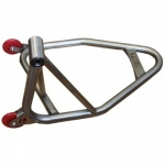 "Harris Stainless Steel ""SINGLE SIDED"" Rear Paddock Stand"