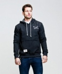 Red Torpedo Guy Martin Headcase Hoodie Anthracite
