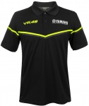 VR46 Yamaha Black Line Polo Shirt