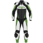 Furygan Full Apex 1 Piece Suit - White / Green / Black