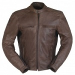 Furygan Vince Brown Leather Jacket