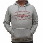 Red Torpedo Guy Martin - Gear with Grit Hoodie