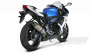 Akrapovic Titanium Slip-On - Hexagonal Silencer GSXR 600 2011