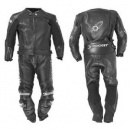 JOE ROCKET GPX 2PC Black Leather Suit
