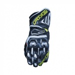 Five5 RFX1 camo and Flourescent yellow Race Gloves