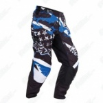 Shot Textile Trousers Freegun U.S. Kid - Blue